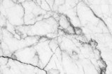 Abstract black and white marble patterned texture background.