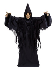 Grim Reaper on white background