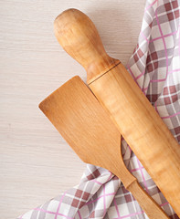 wooden utensils for the kitchen