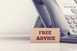 Concept of free legal advice - 79779758