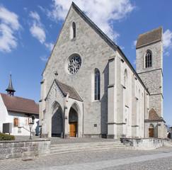 Rapperswil, the Saint John's parish church