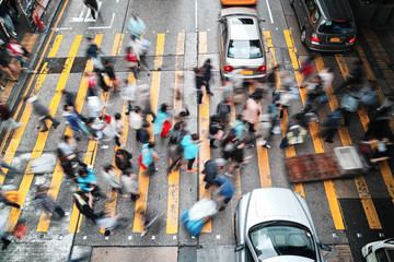 Rush Hour in Hong Kong