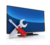 Repair TV and monitor