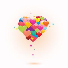 Basic CMYKLove hearts