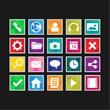 Mobilephone icon set