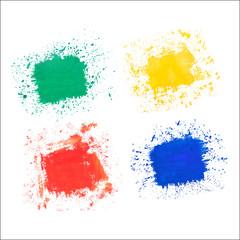 Watercolor texture, background, blots. Vector