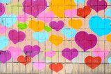 Fototapety Many Hearts