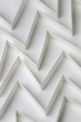 White Triangular Corridors