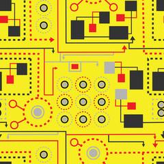 schematic pattern