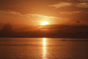 モルジブの日の出