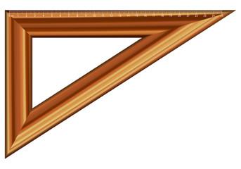triangle ruler