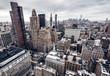 City buildings in New York