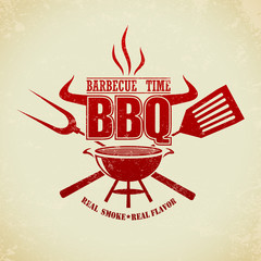 Vintage BBQ Grill Party