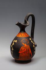 Greek carafe for oil