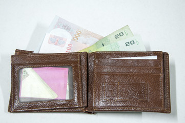 Money in a Wallet