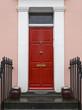 Red front door - 79789932