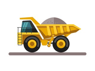 Construction machinery - truck.