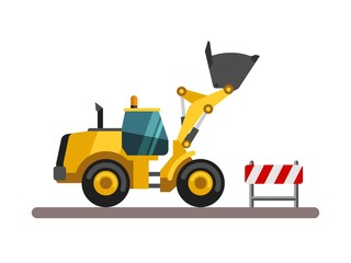 Construction machinery - loader.