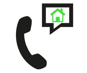 téléphoner à la maison