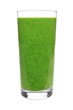 Green smoothie in a glass isolated on a white background - 79795713