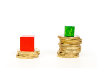 Difference in mortgage payments