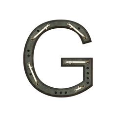 Alphabet technically, Letter G