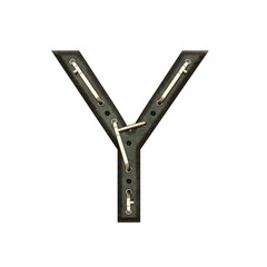 Alphabet technically, Letter Y