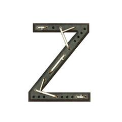 Alphabet technically, Letter Z