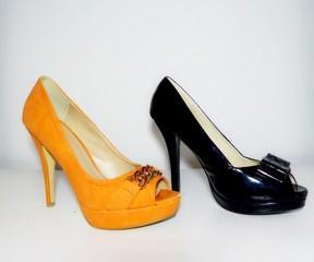 duo orange et noir