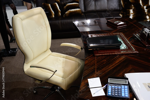 armchair boss - 79800944