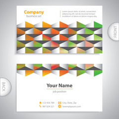 universal business card - Decorative panels