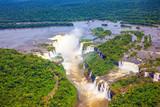 Devil's Throat waterfall of the Iguazu Falls