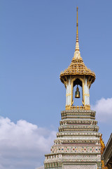 The overgilded tower with a bell