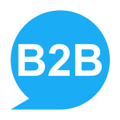 Icono texto B2B