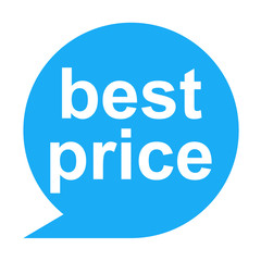 Icono texto best price