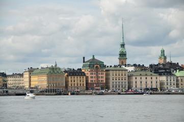 Panoramica Estocolmo, Suecia