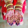 henna wedding design