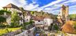 Leinwandbild Motiv Saint-Cirq-Lapopie -one of the most beautiful villages of France