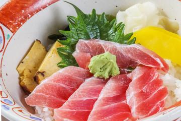 海鮮丼 日本食 Sea foods bowl Japanese foods