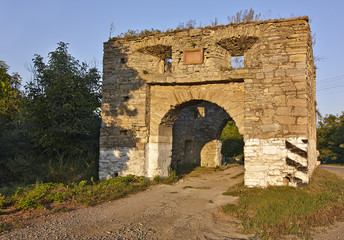 Fortress Trenches Holy Trinity XVII century