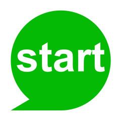 Icono texto start