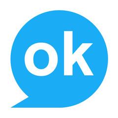 Icono texto ok