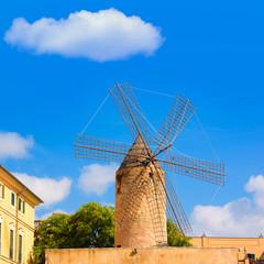 Palma de Majorca windmills wind mill in Mallorca