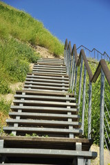 Stairway over the mountain