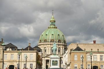 Iglesia de Mármol, Marmorkirkeng, Copenhague, Dinamarca