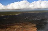 Aerial view of Kilauea volcano in Big island, Hawaii-8