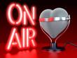 Herz Mikrofon, Liebe zur Musik, Auf Sendung - 79814107
