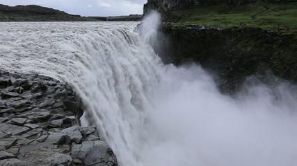 デティフォスの滝 アイスランド