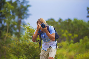 Photographer with Professional Digital Camera