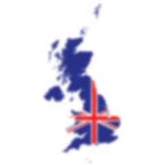 Blurred background of the United Kingdom